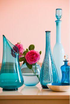 Blue glass :)