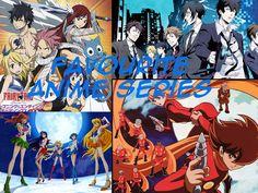 Favourite Anime Series - Deebeefairy | www.deebeefairy.com