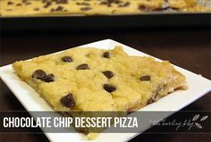 You're going to fall in love with me today. If you've ever had Pizza Inn, then you've probably had their Chocolate Chip Pizzert. If you h...