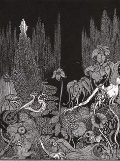 Silence Harry Clarke For Edgar Allan Poe 1933 by SurrenderDorothy, $40.89