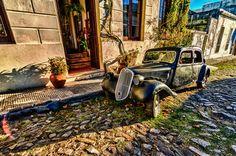 Old Car, New Garden (HDRI) by Ersin Koc on 500px