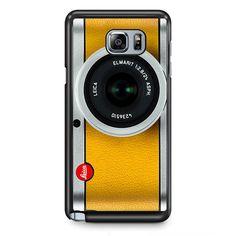 Silver Yelow Leica Camera TATUM-9597 Samsung Phonecase Cover Samsung Galaxy Note 2 Note 3 Note 4 Note 5 Note Edge