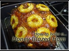 How to make Baked Ham - YouTube