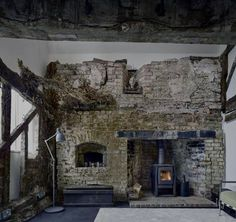 Restorations of historic properties are often a labour of love, but it's rare to find one so painstakingly preserved that the cobwebs, dead ivy and even an old bird's nest remain intact. Designer David Connor and architect Kate Darby joined forces to convert a crumbling 300-year-old cottage in rural Leominster, Herefordshire, and the result is a Riba award-winning project that has kept these ruins intact. The 18th-century remains of Croft Lodge Studio sat in the grounds of the husband...