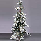 Christmas Tree artificial Snow Dusted 90cm