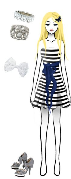 I designed and made the dress and the hairclip, the accesoiries and shoes are from a fashion webshop! ^^ xx Time for fashion 2 Manga Clothes, Drawing Clothes, Tik Tok, Hair Clips, Weapons, Jewerly, My Design, Character Design, Outfit Ideas