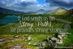 Lace up your boots & see where the path takes you today. #stonypaths #InspirationalQuotes #IrishEncounter #MRPAuthors