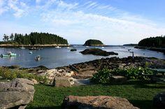 Five islands, Maine