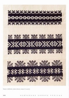 Jelsovice, end of C. Techniky a ornamentika… Embroidery Tattoo, Folk Embroidery, Cross Stitch Embroidery, Slavic Tattoo, Embellishments, Needlework, Arts And Crafts, Sewing, Tattoos