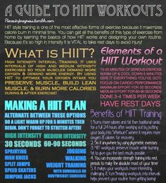 HIIT - for all the warriors out there like me:)