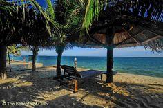 Tien Phat Resort seafront view, Mui Ne Beach, Vietnam