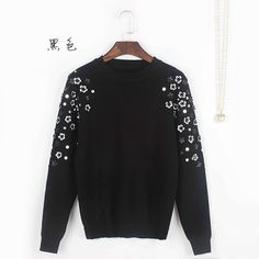 Find More Pullovers Information about Free Shipping 2016 Autumn White/Black…