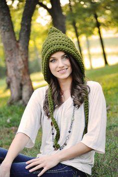 Sombrero de mujer Pixie del ganchillo sombrero por SimplyMadeByErin