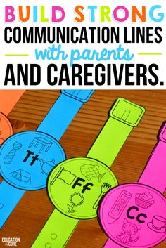 10 Strategies for Teaching Letters and Sounds.  5.  Build strong communication lines with parents and caregivers.