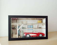 147 best diorama garage images on pinterest in 2018 for Garage mini paris