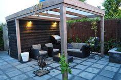 De wens van Rob: een veranda met schuur en transparant dak