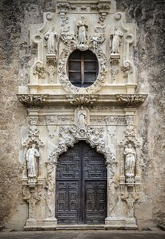 https://flic.kr/p/hX4d5y | Main Door, Mission San Jose, San Antonio, Texas.