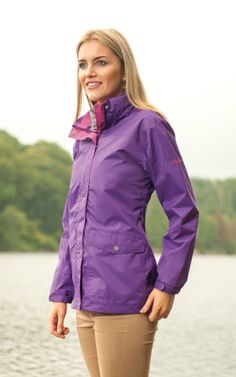 Our Olivia Jacket now comes in a fresh Orchid colour. Order it here | Target Dry http://www.targetdry.com/collections/ladies-jackets/products/target-dry-olivia-ladies-waterproof-jacket