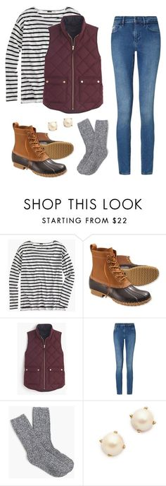 """""""J.Crew Contest"""" by anabelle-gomez on Polyvore featuring J.Crew, L.L.Bean, Calvin Klein and Kate Spade"""