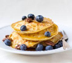 Cottage Cheese Pancakes | dramatic pancake | bring something to the table