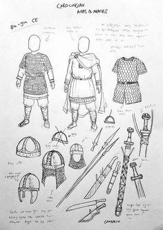 Viking Armor, Medieval Armor, Medieval Fantasy, Armadura Medieval, Armor Concept, Concept Art, Carolingian, Empire Romain, Knight Armor