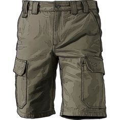 Wrangler Men/'s Twill Cargo Shorts Bullfrog Green Taupe Pick Size