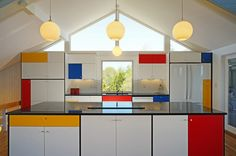 Midcentury Kitchen by Hunter and Company