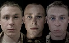 """""""We Are Not The Dead: soldiers' faces before, during and after serving in Afghanistan - Telegraph.""""  Look at his eyes. The transformation. Remarkable.."""
