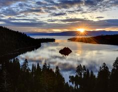 Lake Tahoe Nevada/California One of my favorite places to get away too!  Thank god It is close :)