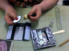 Jongens pop-up U kaart - YouTube Card Making Tutorials, Marianne Design, Pop Up Cards, Diy Cards, Cardmaking, Mini, Scrapbook, Bottle Caps, Youtube