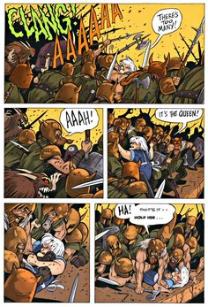 Page 39 - Read online Bone Crown of Horns graphic novel by Jeff Smith Comic Book Pages, Comic Page, Bone Jeff Smith, Fone Bone, Bone Comic, Bone Books, Reading Online, Horns, Novels