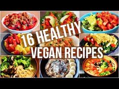 Recipes For A Vegetarian : My 16 Favourite Healthy Vegan Recipes