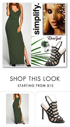 """Rosegal 41"" by abecic ❤ liked on Polyvore"