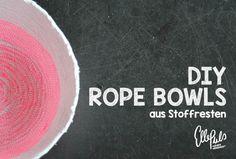 rope bowl DIY tutorial