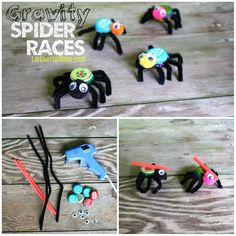 Spider Races: Halloween Science – LiberatedMind