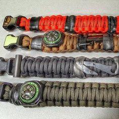 Design your own wearable survival kit bracelet.