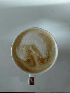 My first coffee art went wrong. used grinder to make coffee form