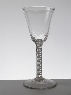 Drinking glass, 1730 - 1750