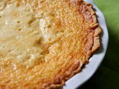 Buttermilk Pie - this won blue ribbon at Kentucky state fair