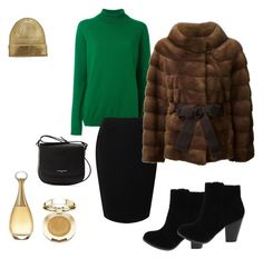 """Без названия #25"" by shadrintseva on Polyvore featuring мода, Jil Sander, Jacques Vert, Lancaster, Milani, Christian Dior и Liska"