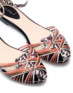 Bershka Serbia -Bershka combined sandals