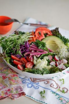 Super Salad for a New Year – Detox Demystified | The Alkaline Sisters