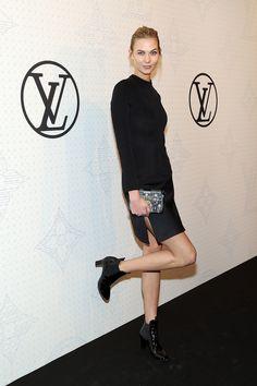 Karlie Kloss at the Louis Vuitton Monogram Celebration.
