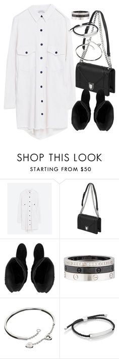 """""""Untitled #20143"""" by florencia95 ❤ liked on Polyvore featuring Cartier and Monica Vinader"""