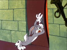 • my gif gif LOL funny film vintage bugs bunny animation cartoons looney tunes Chuck Jones 1946 Bugs Bunny gif Hair-raising hare looney tunes gif What's Up Doc gameraboy •