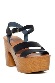 Ziginy Logic Platform Sandal