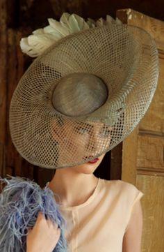 Jane Taylor Millinery - Swan hat