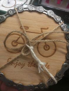 Madeira de ciclista.