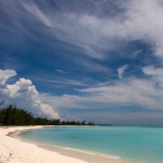 Beach at Gordon's, Long Island, Bahamas