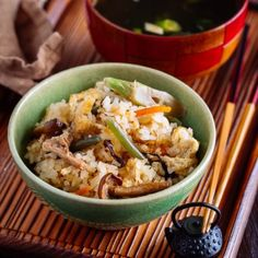 Sansai Gohan (Rice with Mountain Vegetables) Sansai Gohan is a mixed rice dish filled with fresh, tender, fragrant mountain vegetables. Welcome the arrival of spring by enjoying a bowl of lightly seasoned mountain vegetable rice! Easy Japanese Recipes, Japanese Food, Asian Recipes, Ethnic Recipes, Japanese Rice Dishes, Chinese Recipes, Mexican Recipes, Japanese Chicken, French Recipes